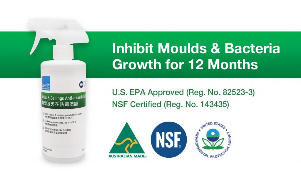 U.S EPA Approved AerisGuard™ Anti-mould Coat