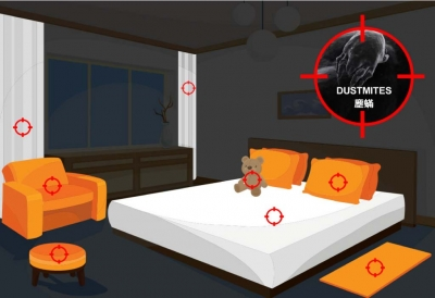 How to reduce house dust mite allergens